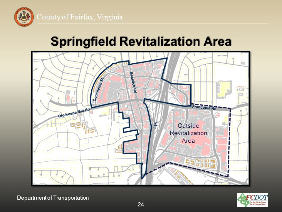 Springfield Revitalization Area