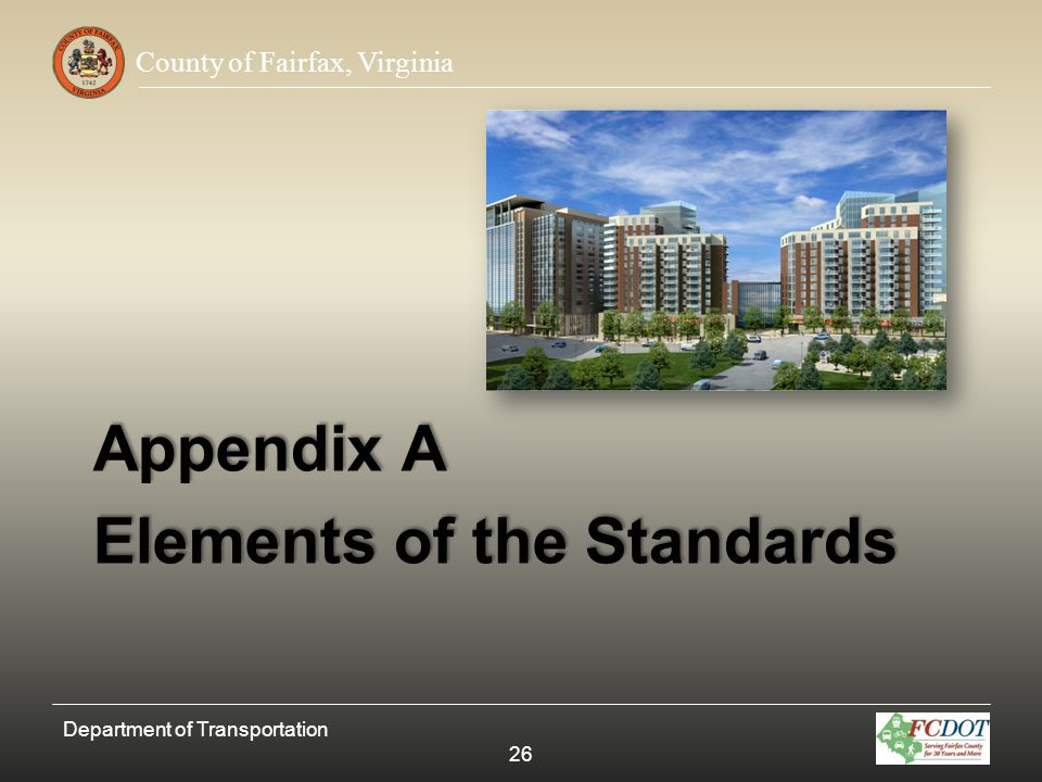 Elements of the Standards
