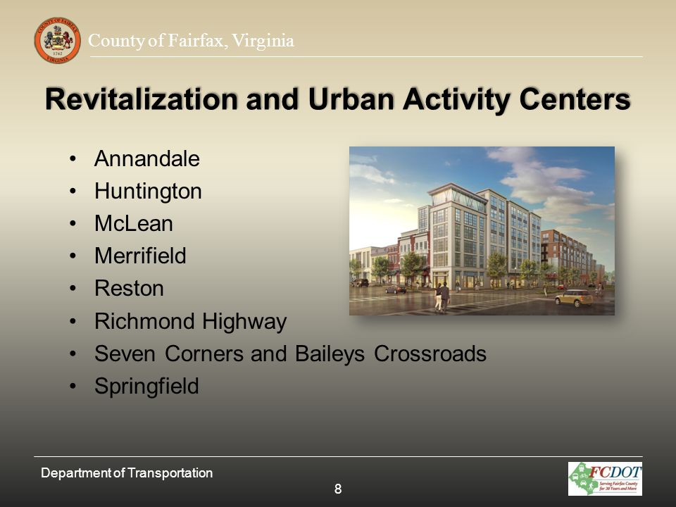 Revitalization and Urban Activity Centers