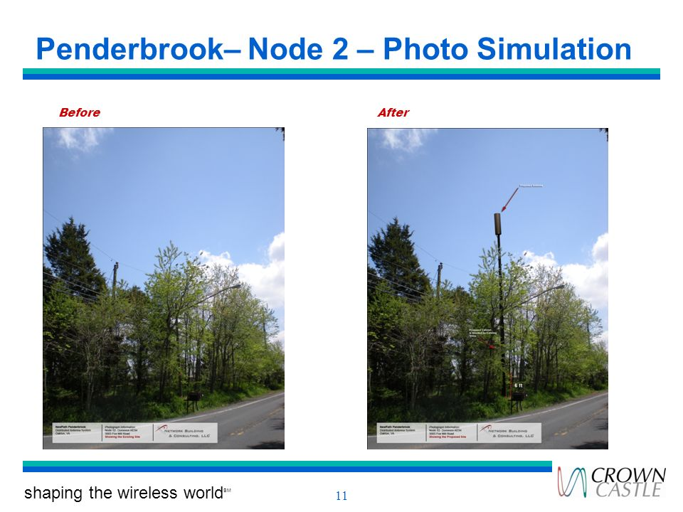 Penderbrook– Node 2 – Photo Simulation