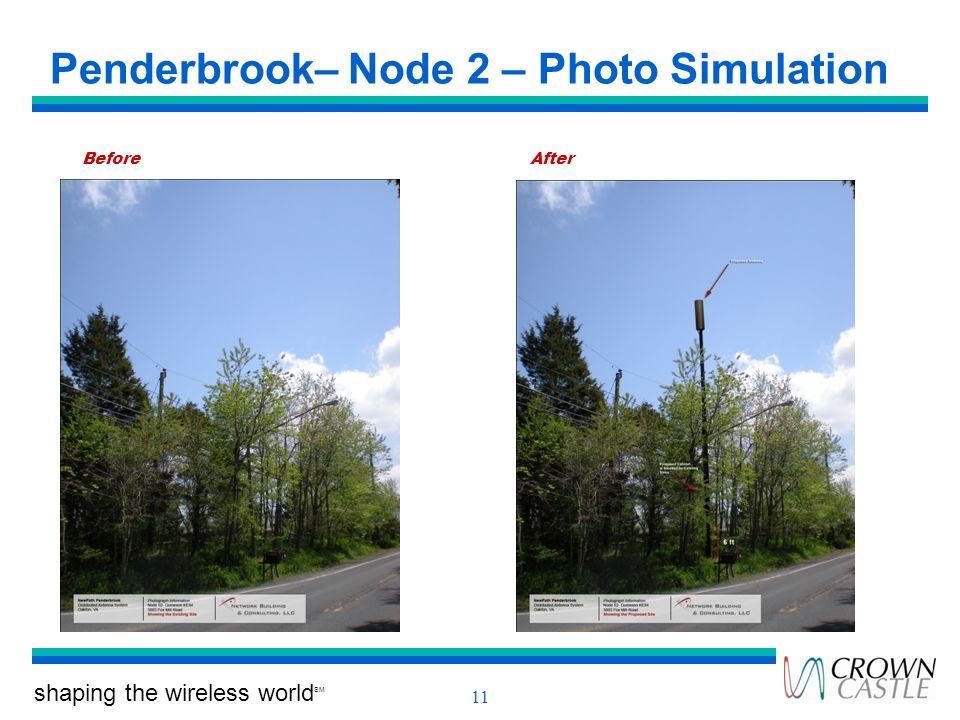 Penderbrook– Node 2 – Photo Simulation
