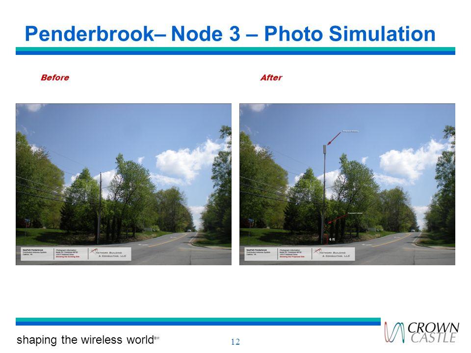 Penderbrook– Node 3 – Photo Simulation