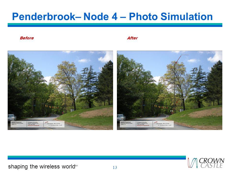 Penderbrook– Node 4 – Photo Simulation