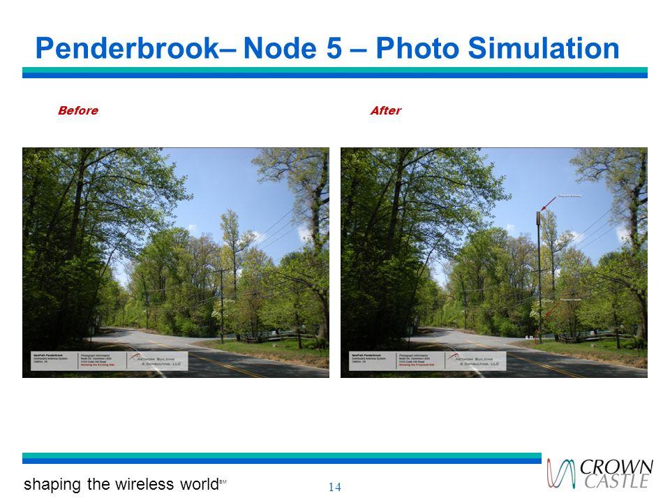Penderbrook– Node 5 – Photo Simulation