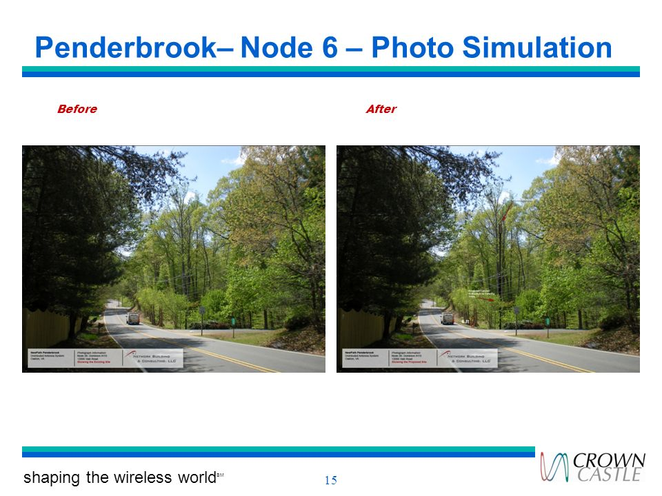 Penderbrook– Node 6 – Photo Simulation