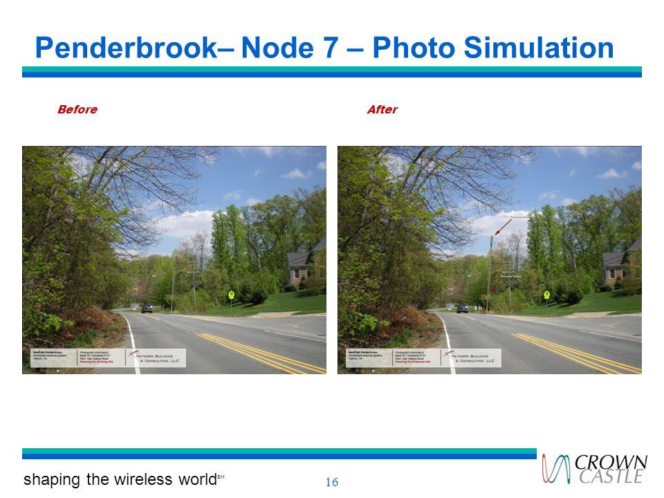 Penderbrook– Node 7 – Photo Simulation