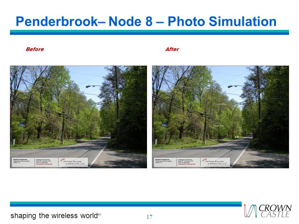 Penderbrook– Node 8 – Photo Simulation