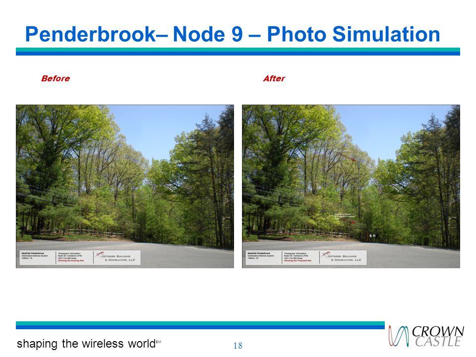 Penderbrook– Node 9 – Photo Simulation