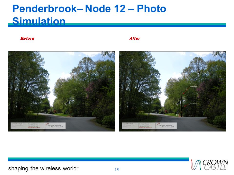 Penderbrook– Node 12 – Photo Simulation