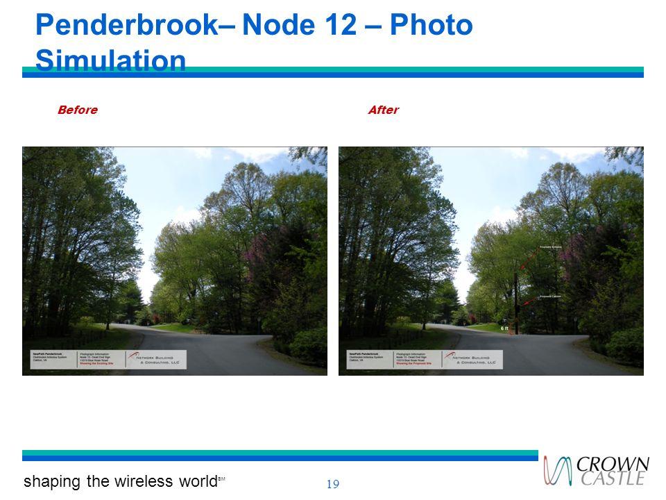 Penderbrook– Node 12 – Photo Simulation
