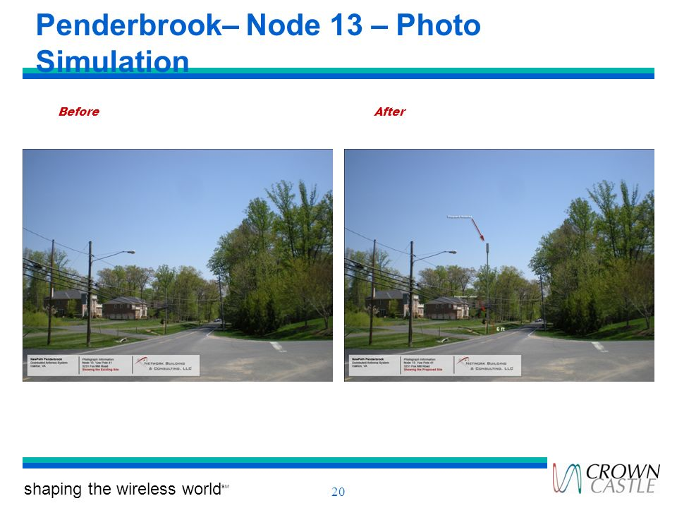 Penderbrook– Node 13 – Photo Simulation