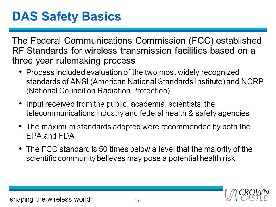 DAS Safety Basics