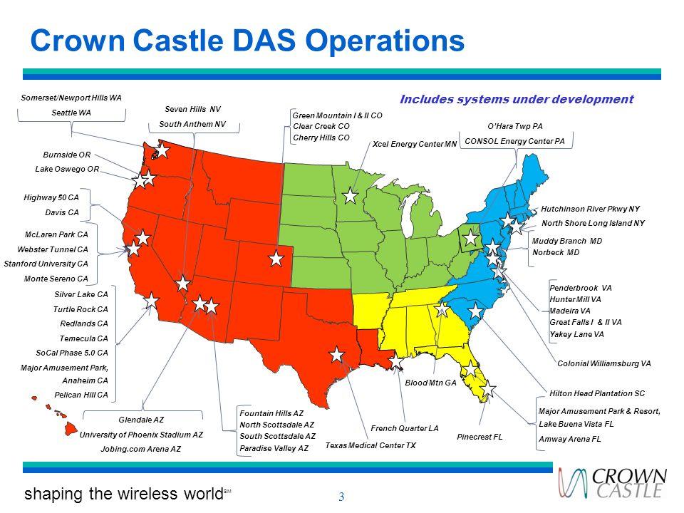Crown Castle DAS Operations