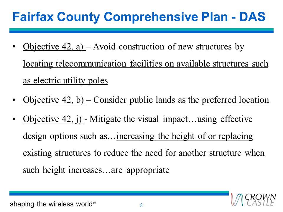 Fairfax County Comprehensive Plan - DAS