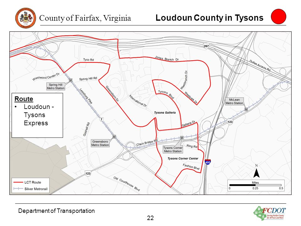 Loudoun County in Tysons