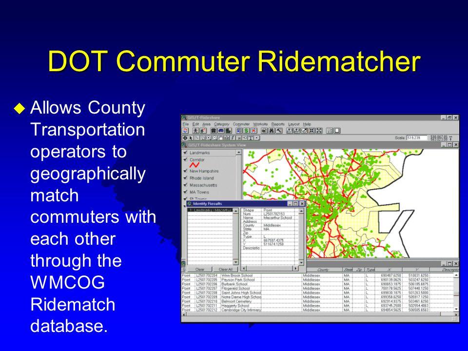 DOT Commuter Ridematcher