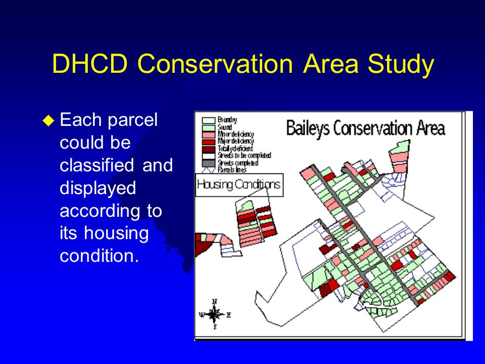 DHCD Conservation Area Study