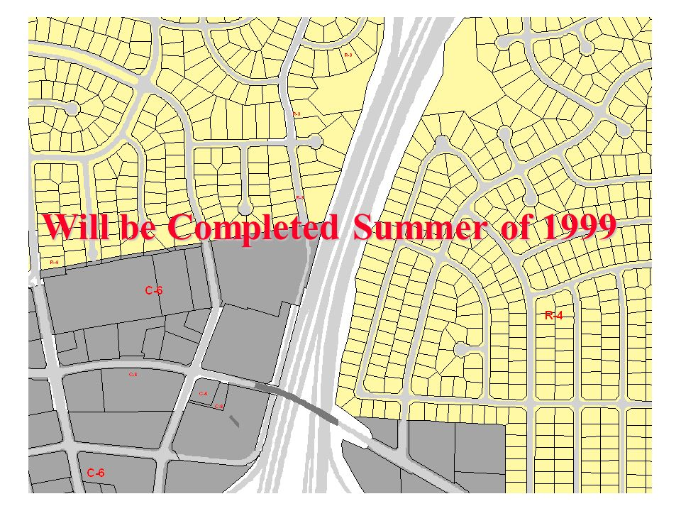 Will be Completed Summer of 1999