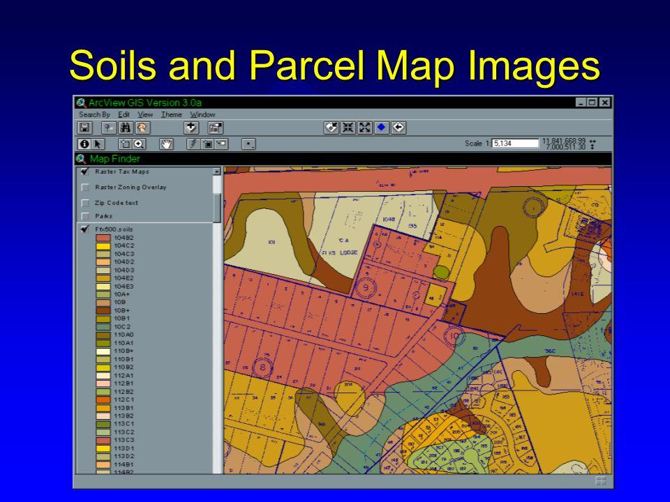 Soils and Parcel Map Images