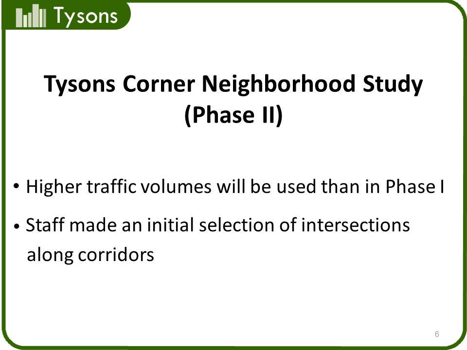 Tysons Corner Neighborhood Study (Phase II)