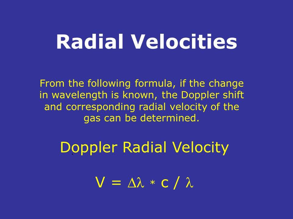Doppler Radial Velocity