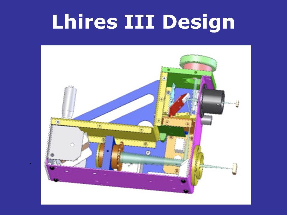 Lhires III Design .