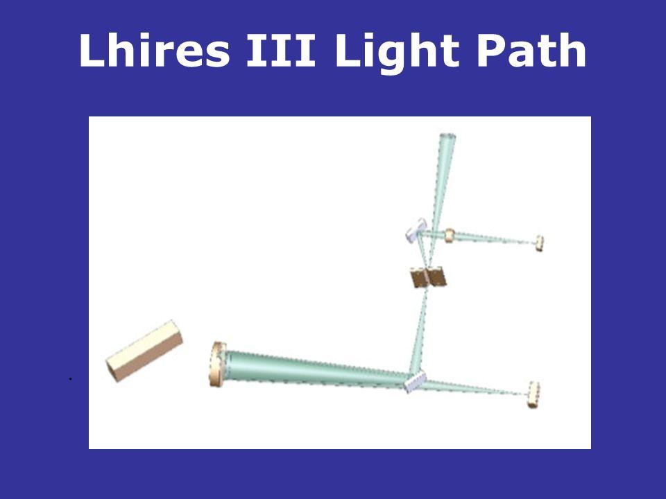 Lhires III Light Path .