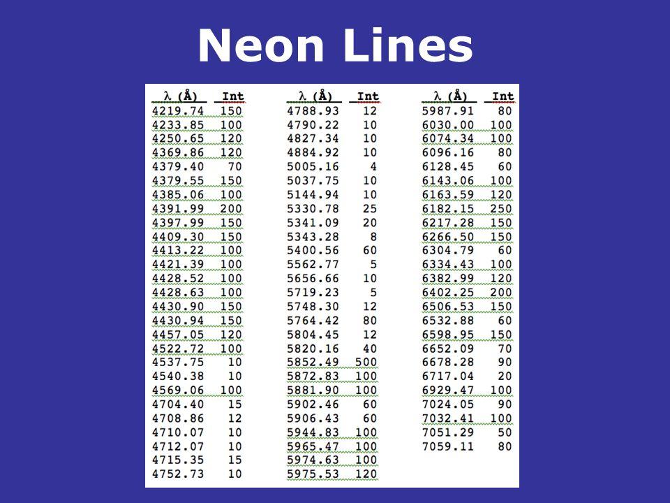 Neon Lines .