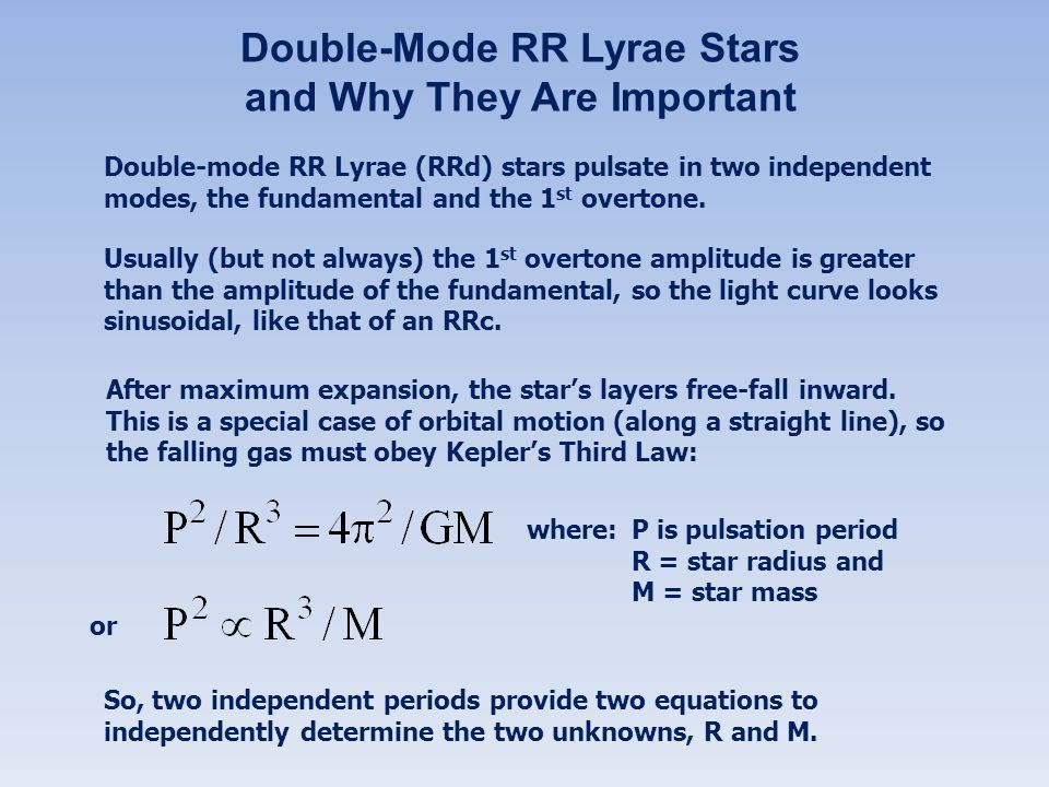 Double-Mode RR Lyrae Stars and Why They Are Important