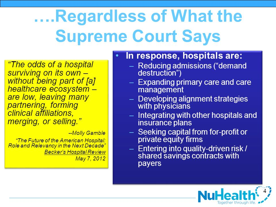 ….Regardless of What the Supreme Court Says