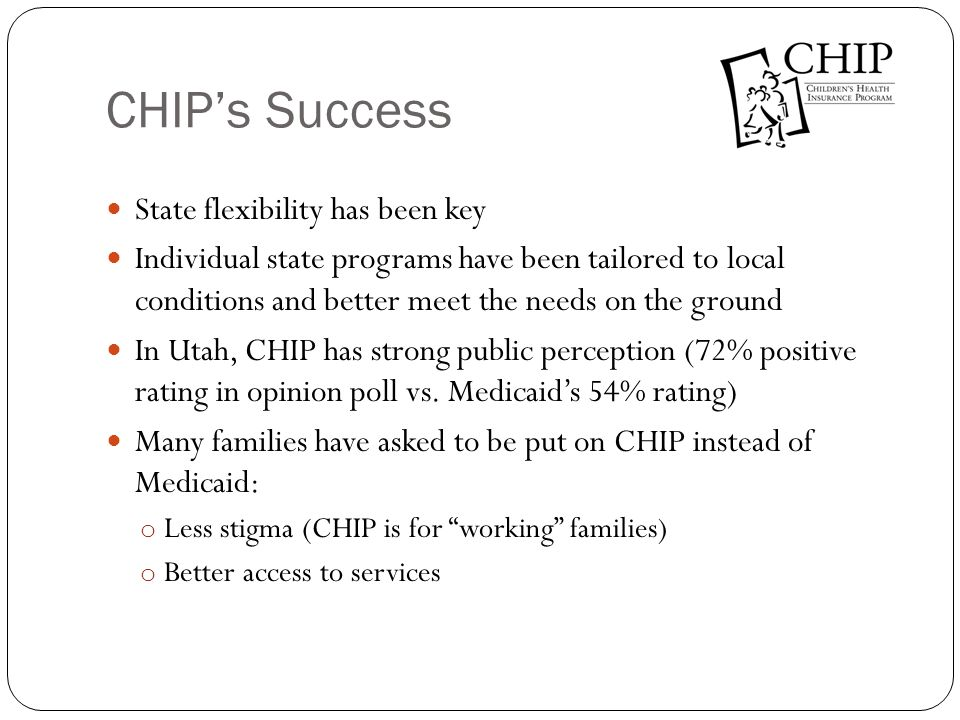CHIP's Success State flexibility has been key