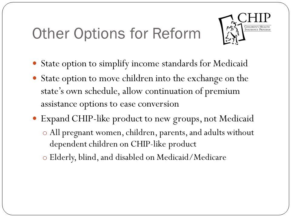 Other Options for Reform