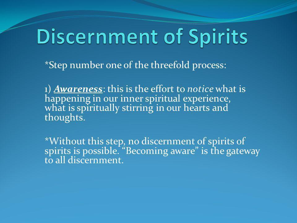 Discernment of Spirits