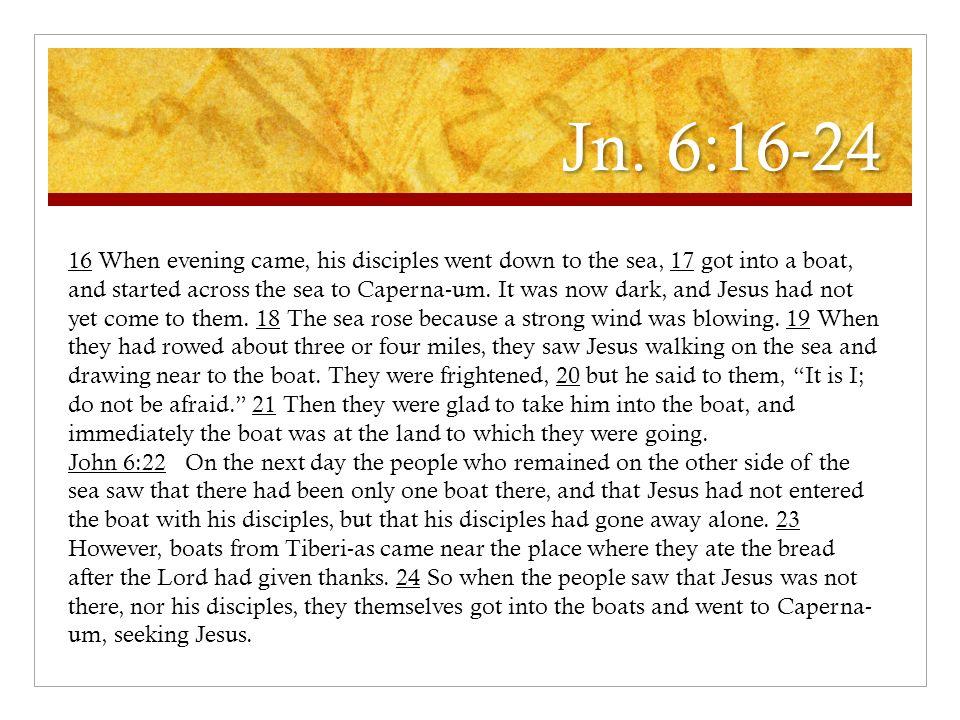 Jn. 6:16-24