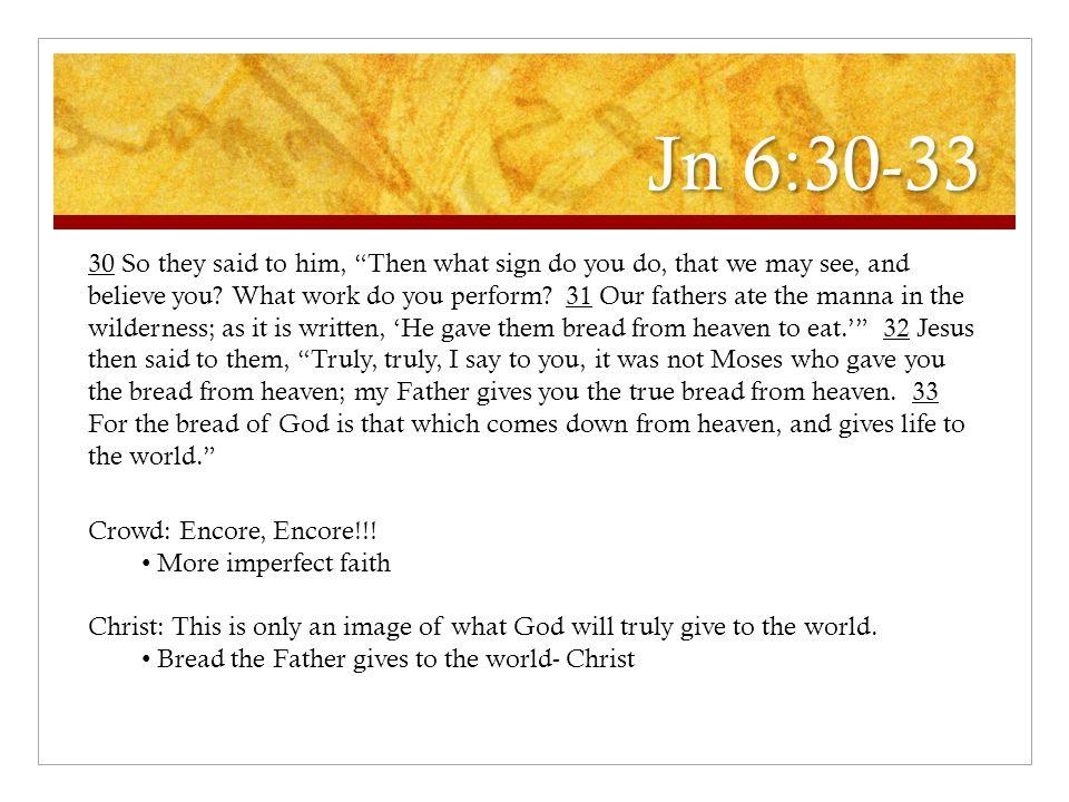 Jn 6:30-33