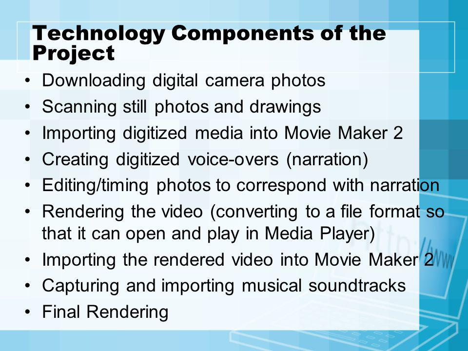 Technology Components of the Project