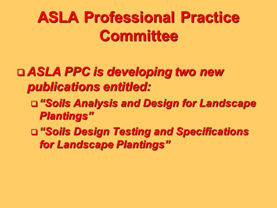 ASLA Professional Practice Committee