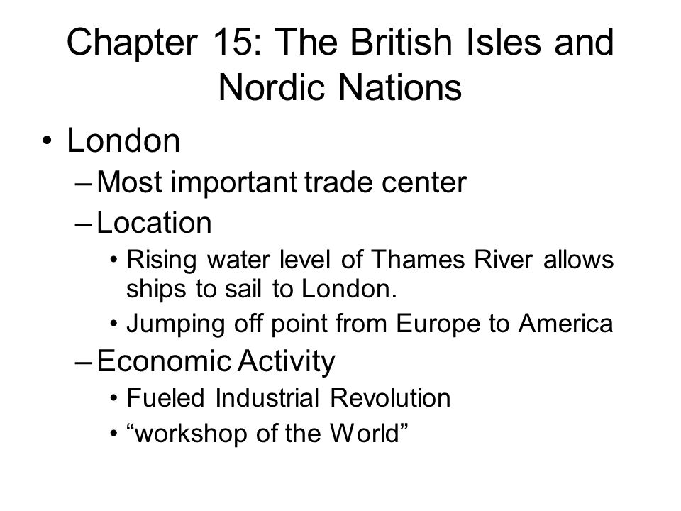 Chapter 15 The British Isles and Nordic Nations  ppt video