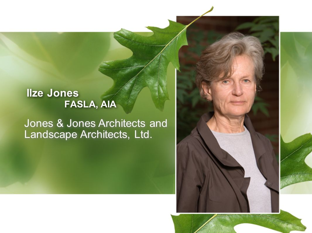 Jones & Jones Architects and Landscape Architects, Ltd.