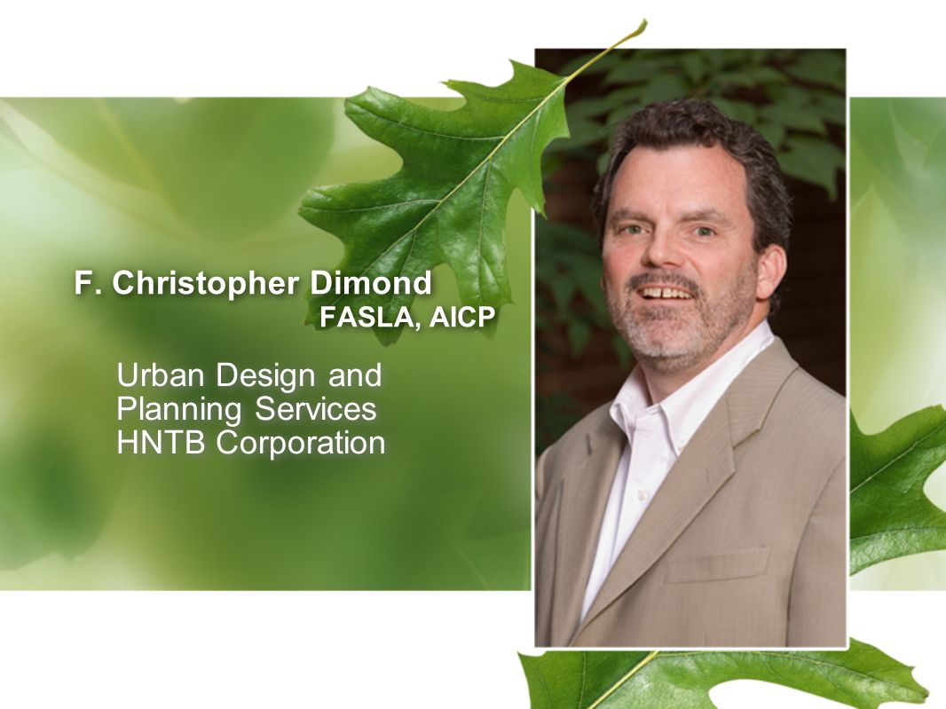 F. Christopher Dimond FASLA, AICP