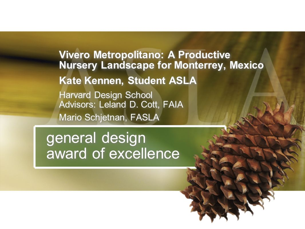 general design award of excellence
