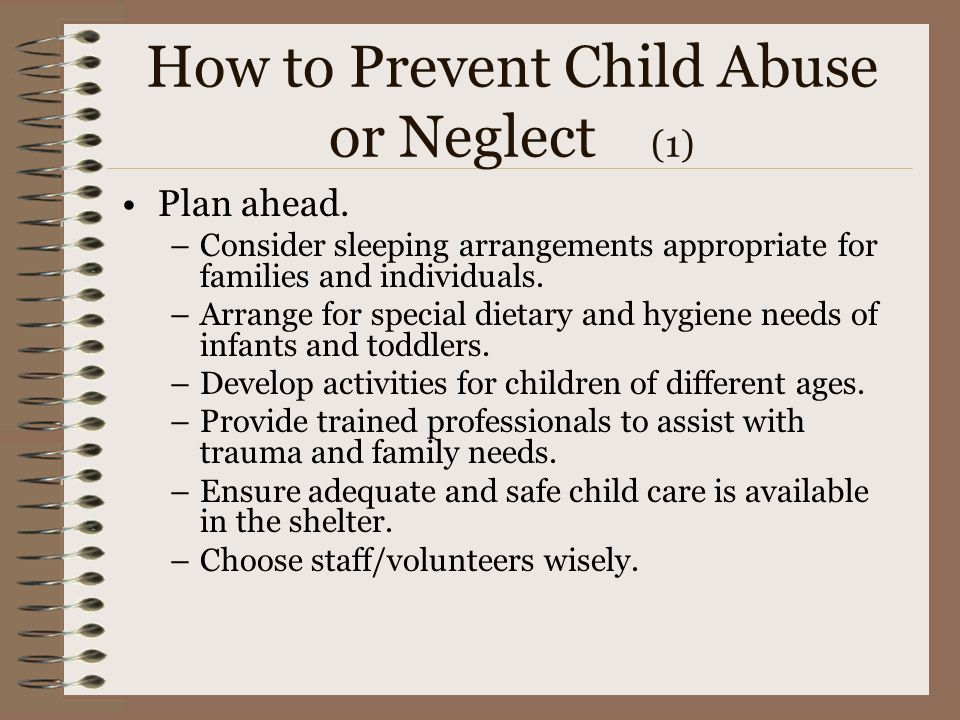 How to Prevent Child Abuse or Neglect (1)