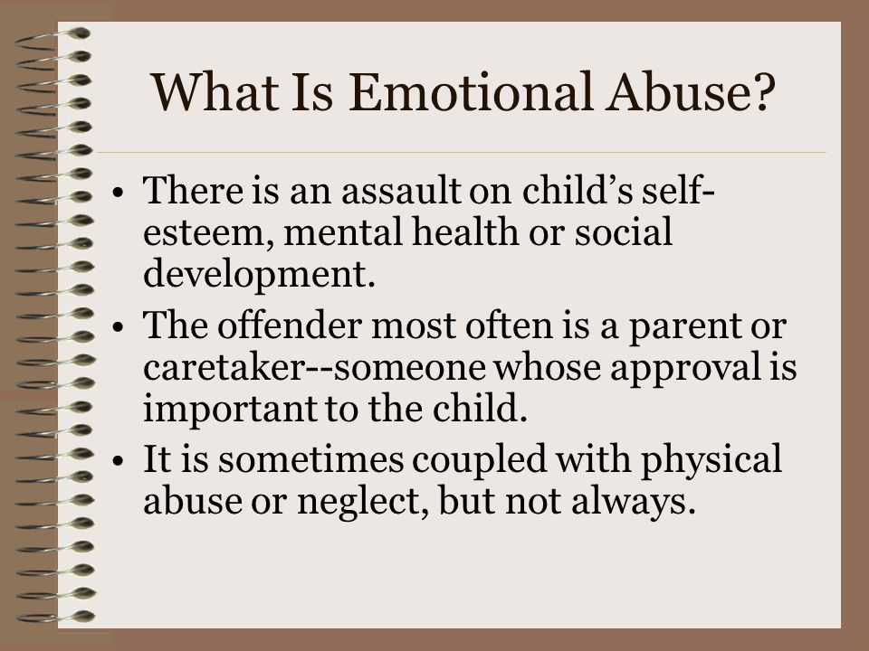 What Is Emotional Abuse