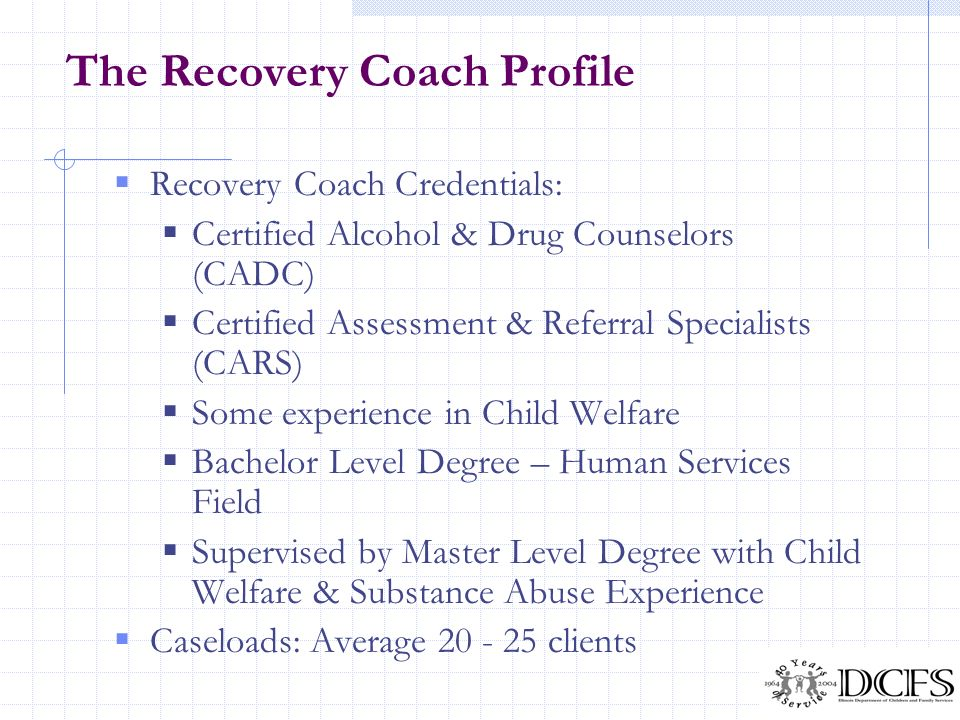 The Recovery Coach Profile