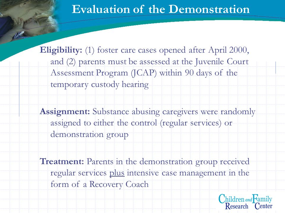 Evaluation of the Demonstration