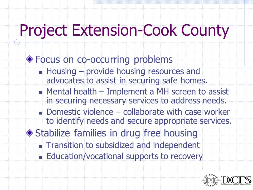 Project Extension-Cook County
