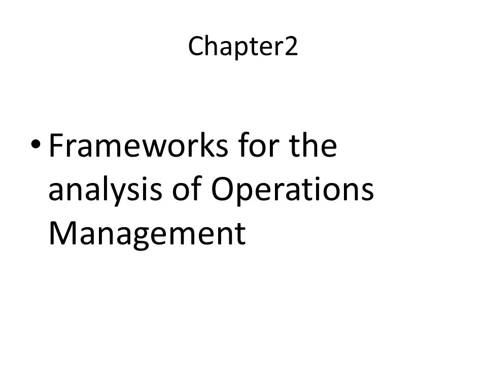 the perfect overview of strategic operations management Overview help center  browse more strategic management  introduction to operations management is a great course that gives you a lot of knowledge on how to .