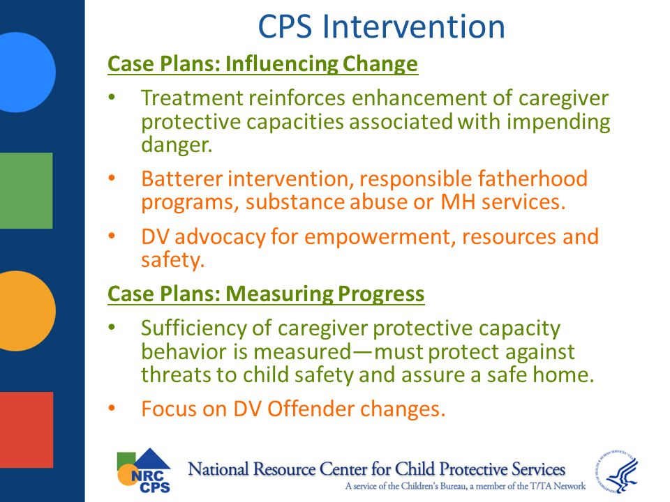 CPS Intervention Case Plans: Influencing Change
