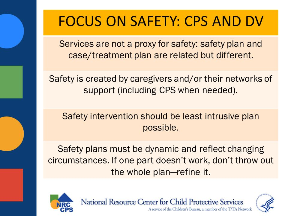 FOCUS ON SAFETY: CPS AND DV