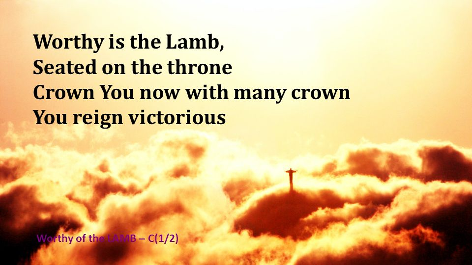 Crown You now with many crown You reign victorious